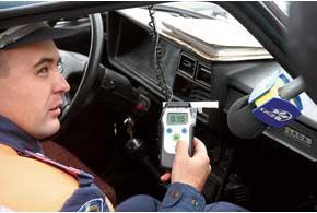Алкотестеров для всех патрулей ГАИ нехватает: навсю Украину– около 250-ти таких приборов.