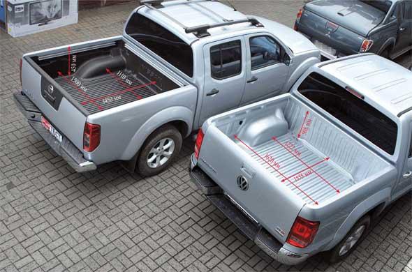 Nissan Navara, VW Amarok
