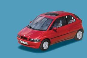 В 1991 году компания представила концепт E1 наэлектротяге.