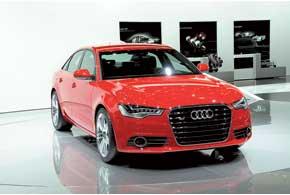 Audi A6 был представлен как в традиционной версии с ДВС, такивгибридном исполнении.