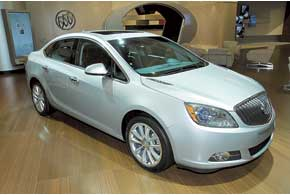 Новый Buick Verano пополнит линейку люксовых седанов марки.