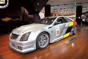 Гоночная версия Cadillac CTS-V Coupe построена для участия в кольцевом чемпионате SCCA World Challenge.