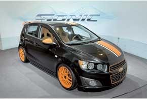 Chevrolet Aveo будет продаваться наамериканском рынке под именем Sonic.