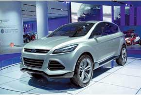 Ford Vertrek является концептуальным прообразом модели Kuga второго поколения.