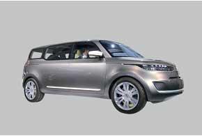 Kia KV7 – концепт минивена будущего...