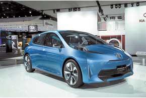 Концептуальный Toyota Prius C демонстрирует один из вариантов дальнейшего развития дизайна модели.