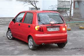Кузова Matiz   надежно защищены от коррозии, иесли автомобиль не попадал в ДТП, ржавчины на кузове быть не должно.