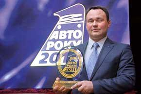 Коммерческий директор «Хюндай Моторс Украина» Геннадий Четверухин получил самую большую статуэтку – приз в главной номинации акции.