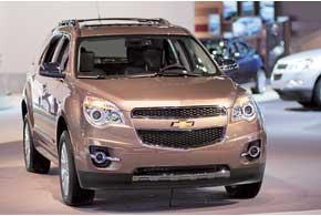 Chevrolet Equinox нового поколения