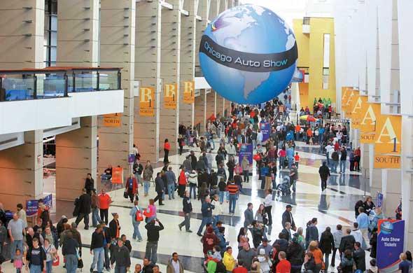 Chicago Motor Show 2011