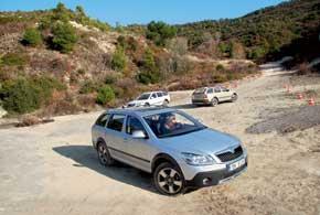 Skoda 4x4 Test Drive 2011