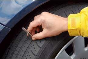 Остаточная «безопасная» глубина рисунка протектора летней шины– более 3 мм. Если меньше – возможны проблемы вдождь.