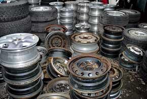 Новые шины и диски