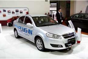 Riich G3 Plug-In получил бензо-электрический привод и подзаряжаемые от сети литий-ионные батареи.