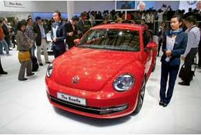 VW Beetle нового поколения получил стильные внешность и дизайн интерьера.