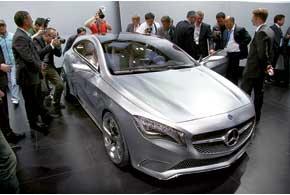 A-Klasse Concept– прообраз субкомпакта от Mercedes-Benz.