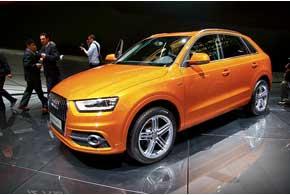 В семье компактных SUV прибавление –  Audi Q3.