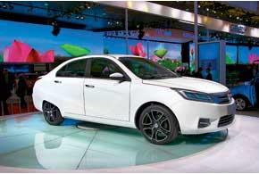 Chang'an Clover – концептуальный электромобиль с оригинальным дизайном, навеянным творчеством Марчелло Гандини.