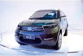 Концептуальный кроссовер Haima C2 оснащен 1,5-литровым 150-сильным бензиновым мотором.