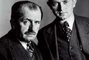 Фердинанд Порше  и сын Фердинанд