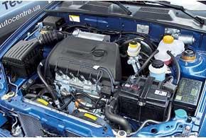 Под капотом все тот же 1,3-литровый мотор МеМЗ мощностью 70 л. с.