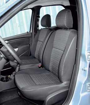 Передние сиденья Logan обеспечивают водителю более высокую посадку ихороший обзор. Вотличие от конкурента подогрев для кресел нельзя заказать ни в одной изкомплектаций.