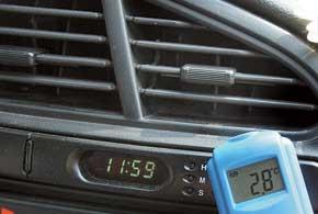 Элементарная диагностика– замер температуры у дефлектора. Намалой скорости вентилятора она должна быть не выше +8...+10°C.