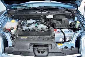 Большинство Connect оснащено турбодизельными двигателями (на фото). Бензиновые встречаются достаточно редко и устанавливались только на автомобили до2007года.
