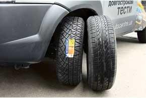 Шины Hankook Optimo K406 и Michelin Latitude Cross