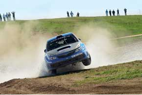 Возвращение Юрия Протасова в чемпионат Украины было эффектным, но недолгим: буквально через два дня после «Мариуполя» пилот отправился в Аргентину на очередной этап WRC.