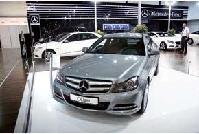Mercedes-Benz C-Klasse нового поколения в кузове купе стал лучшим автомобилем SIA'2011.