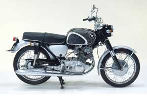 Honda Dream CB 72 Super Sport (24 л.с. при 9000 об/мин)