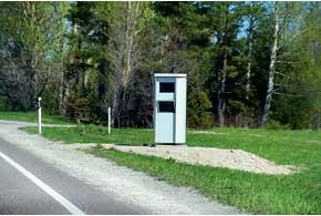 На дорогах Эстонии нужно четкопридерживаться скоростного лимита, радары здесь повсюду.