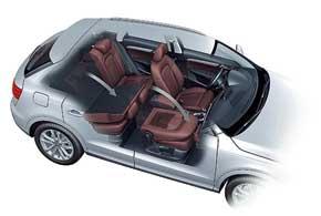 Можно заказать переднее пассажирское кресло со складывающейся спинкой. Это пригодится для перевозки длинномеров.