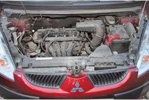 В Украине продавались только бензиновые версии Colt. Наиболее распространены у нас моторы объемом 1,3 л.
