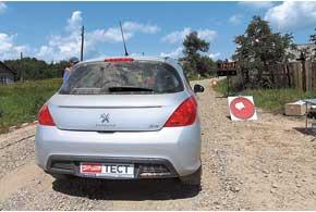 На Черновицкий этап мы в очередной раз отправились на Peugeot, но в этот раз нашим пресс-каром стал обновленный 308-й, с бензиновым 1,6-литровым 120-сильным мотором и «автоматом»