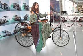 Прототип первого автомобиля Benz, который в 1886 году создал Карл Бенц