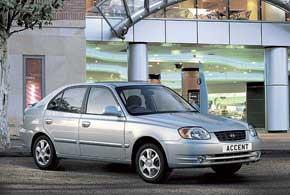 Hyundai Accent второго поколения