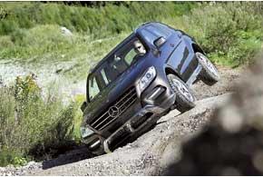 Если подвеске не хватает хода, вывесившееся колесо подтормаживается умными системами и машина выезжает на трех оставшихся «в деле».