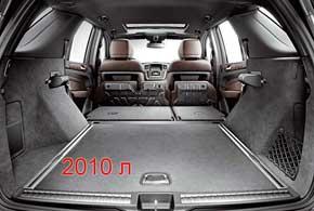 Хотя новая машина стала ниже, объем багажника (690– 2010 л) даже увеличился.