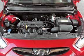 1,4-литровый мотор – шустрый. Его 107 л. с. хватает для уверенного ускорения. Порадовал расход в городе – 7,0-7,2 л с учетом пробок.