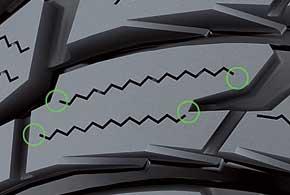 Cool Touch. Минимизация трения, тепловыделения,  сопротивления качению шины.