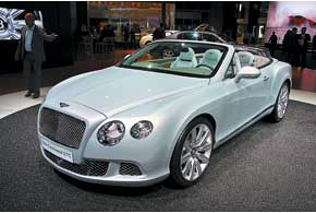 Новый Bentley Continental GTC получил 575-сильный W12.