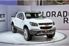 Концепт-кар Chevrolet Colorado Rally
