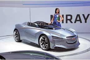 Концепт-кар Chevrolet Miray