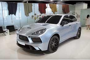Eterniti Hemera скузовом из карбона и 4,8-литровым V8 мощностью 620л.с.
