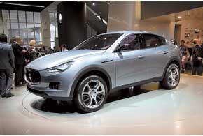 Maserati SUV Kubang.Серийный спорткар.