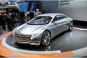 Электромобиль на водородных топливных элементах Mercedes-Benz F125! создан к 125-летию первого автомобиля.