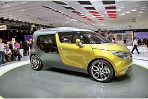 Renault Frendzy в будни – стильный «работяга», а в выходные – истинный «семьянин».