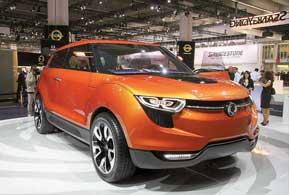 Концепт SsangYong XIV-1 может оснащаться 1,6-литровым бензиновым или дизельным мотором, «механикой» или «автоматом», передним или полным приводом.